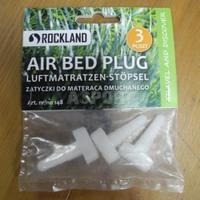 Zatyczki do materaca dmuchanego, plastikowe 3szt. Rockland