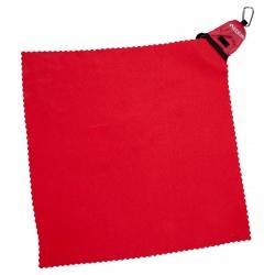 Mini ręcznik turystyczny czerwony Rockland