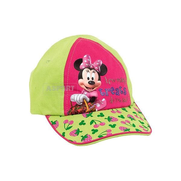 Czapka z daszkiem, dziecięca MYSZKA MINNIE Mickey Mouse