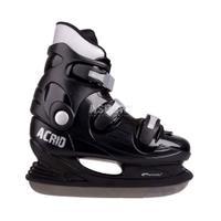 Łyżwy hokejowe, hokejówki, stalowa płoza ACRID RENT czarne Spokey