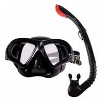 Fajka + maska do nurkowania TORTUGA czarna Spokey