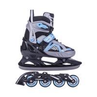 Łyżworolki + łyżwy, 2w1, regulowane, płoza hokejowa AVIAN Spokey