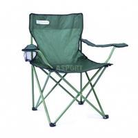 Krzesło turystyczne, wędkarskie, składane ANGLER zielone Spokey
