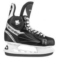 Łyżwy hokejowe, hokejówki, sznurowane SNIPE Spokey