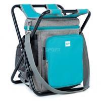 2w1: plecak termiczny, torba + krzesło składane MATE Spokey