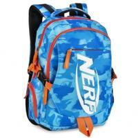 Plecak szkolny - sportowy BRONCO niebieski NERF