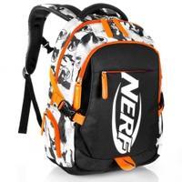 Plecak szkolny - sportowy BRONCO czarny NERF