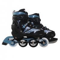 Łyżworolki + łyżwy, 2w1, regulowane, płoza hokejowa Sportvida