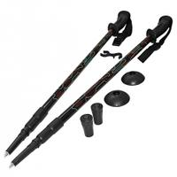 Kije, kijki trekkingowe 3-sekcyjne, anti-shock 105-135cm SportVida