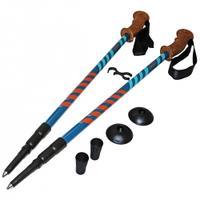 Kije, kijki trekkingowe 3-sekcyjne, anti-shock 105-135cm SV-RE0005 SportVida