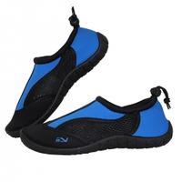 Obuwie plażowe Buty do wody czarno-niebieskie Sportvida