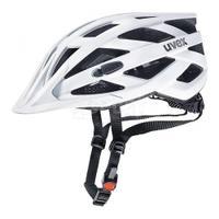 Kask ochronny, rowerowy, na rolki, z daszkiem I-VO CC white mat Uvex
