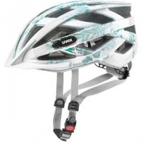 Kask rowerowy AIR WING biało-zielony Uvex