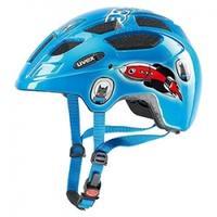Kask rowerowy UVEX FINALE JUNIOR niebiesko-czerwony