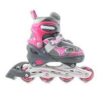 Rolki regulowane, dla dziewczynki, JAVELIN szaro-różowy Powerblade